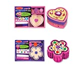 Melissa & Doug DYO Flower and Heart Chest Bundle