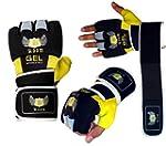 BOOM Boxing Yellow/Black Neoprene GEL...