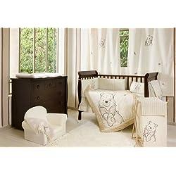 [Winnie the Pooh] 4 Pc Crib Bedding Set Crib Bedding Collection (Bumper)