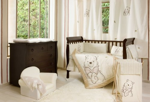 [Winnie the Pooh] 4 Pc Crib Bedding Set Crib Bedding Collection (Bumper) (Classic Pooh Crib Bedding compare prices)