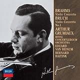 ブラ-ムス:ヴァイオリン協奏曲/ブルッフ:ヴァイオリン協奏曲第1番