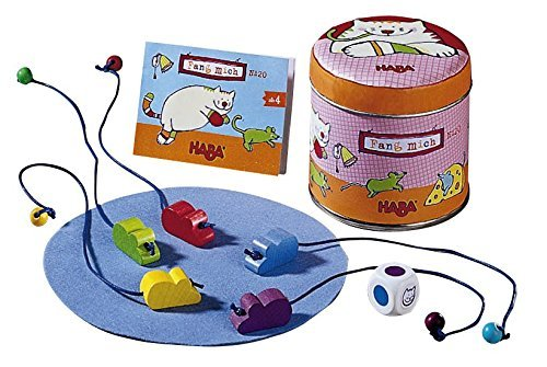 HABA Catch Me Mini Game To Go - A Lightning Fast Reaction Game (Made in Germany) by HABA