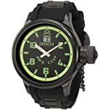 Invicta Men's 4338 Russian Diver Collection Black Watch ~ Invicta