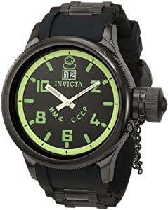 Invicta Men's 4338 Russian Diver Collection Black Watch