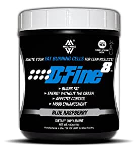 D-Fine 8 (Blue Raspberry)