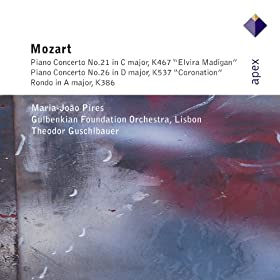 Mozart : Piano Concertos Nos 21, 26 & Rondo - Apex