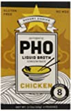 Savory Choice Pho Liquid Broth Concentrate, Chicken, 2.12 Ounce (Pack of 12)