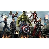 Movie Avengers--Age Of Ultron The Avengers Marvel ON FINE ART PAPER HD QUALITY WALLPAPER POSTER