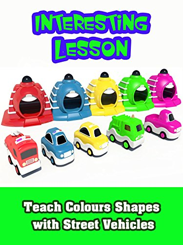 Teach Colours Shapes with Street Vehicles