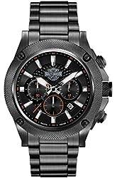 Harley-Davidson Men's Stainless Steel Chronograph Bracelet Watch. 78B127