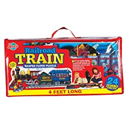 [Best price] Puzzles - T.S. Shure Train Engine Shaped Floor Puzzle - toys-games