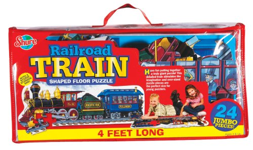Cheap Fun Shure Train Engine Shaped Floor Puzzle (B002LMEYZM)