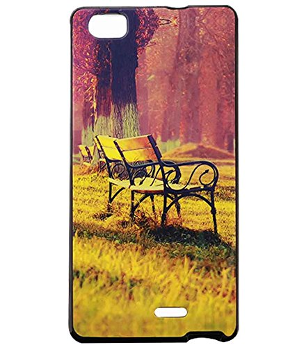 Jkobi Exclusive Rubberised Back Case Cover For Lava Iris X5 4G - Piece Chair