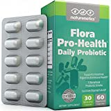Double Strength Probiotics - 70-100 Billion CFU Per CAPSULE (at Manufacture) - 30 Billion Guaranteed For Entire Shelf Life - Independently Tested & Verified - Outstanding Results or Your Money Back - Potency Protection Packaging - No Refrigeration Required - Gluten Free - Lactose Free - Vegan - Non-GMO :: Flora Pro-Health™ by Naturenetics®