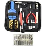 Kit de réparation de montre et réglage de bracelet de 286 pcs avec outil pour ouvrir l'arrière des montres par KurtzyTM