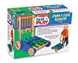 Melissa & Doug Deluxe Chomp & Clack Alligator Push Toy