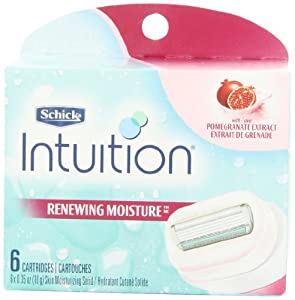 Schick Intuition Renewing Moisture Refill (Pomegranate) 36/6ct