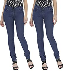 NGT Women's Twin Royal Blue Jeans