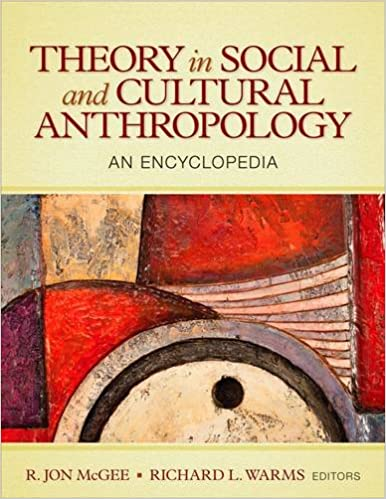 Cover:Theory in social and cultural anthropology