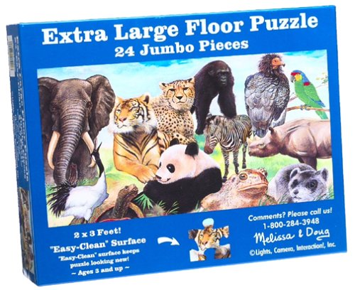 Cheap Melissa & Doug Endangered Species Floor Puzzle (B00004WHN4)