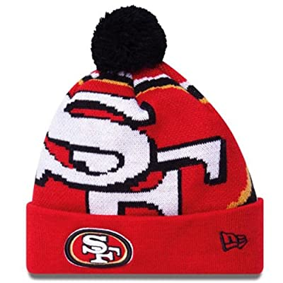 Men's New Era San Francisco 49ers Woven Biggie Knit Hat One Size Fits All