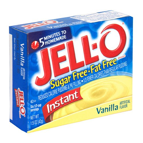 Buy Jell-O Sugar-Free Instant Pudding & Pie Filling, Vanilla, 1.5-Ounce Boxes (Pack of 24) (JELL-O, Health & Personal Care, Products, Food & Snacks, Baking Supplies, Pie & Cobbler Fillings)