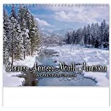 Scenes Across America Spiral Appointment Wall Calendar Trade Show Giveaway