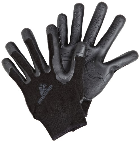 Mad Grip Pro Palm Glove 100,Black/Black,Small/Medium