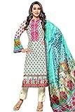Lebaas Cotton Printed Salwar Suit Dupatta Material