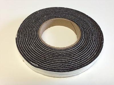 "Black Smoker Gasket 3/4"" x 1/8"" bbq smoker gasket grill seal"