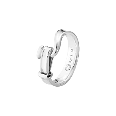 Georg Jensen Sterling Silver Men's Torun Ring