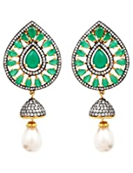 Akshim Multicolour Alloy Earrings For Women - B00NPY99YG