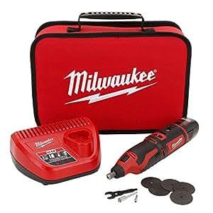 Milwaukee 2460-21 M12 12-Volt Rotary Tool Kit