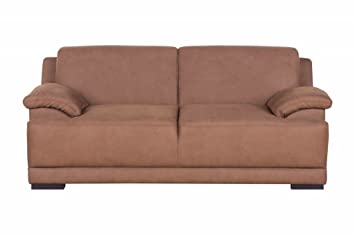 ALESSANDRIA 2er Boxspringsofa 2-Sitzer Sofa Couch Kamel