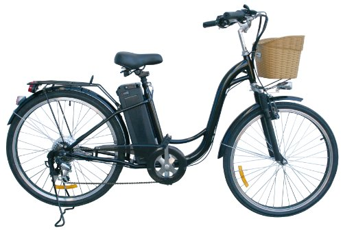 "Discover Bargain Watseka XP Cargo-Electric Bicycle-26""-6 speed-Adult/Young Adult-Black"