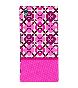 Rangoli Pattern 3D Hard Polycarbonate Designer Back Case Cover for Sony Xperia Z5 :: Sony Xperia Z5 Dual (5.2 Inches)