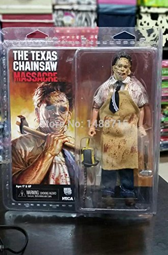 [Famous Horror Movie The Texas Chainsaw Massacre NECA Leatherface Electric Saw Hammer 8