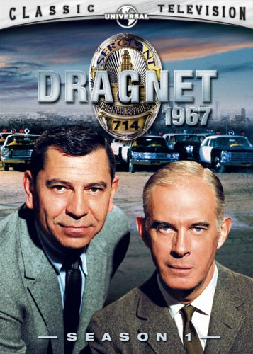 Cover art for  Dragnet 1967 - Season 1