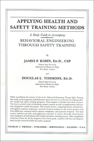 Applying Health and Safety Training Methods: A Study...