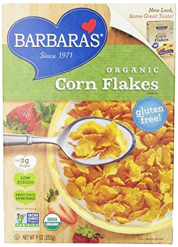 Barbara's Bakery Organic Corn Flakes - 9 oz (Organic Corn Flakes Cereal compare prices)