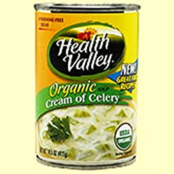 Health Valley Cream Of Celery Soup, 14.5-Ounce Cans (Pack of 12)