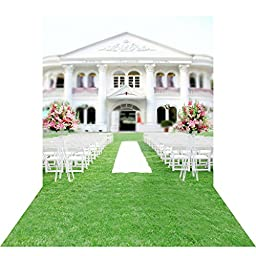 Ouyida Church wedding 10X15FT(300X450CM) Pictorial cloth Customized photography Backdrop Background studio prop GQ03