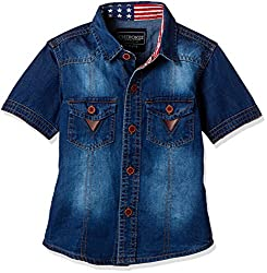Cherokee Boys' Shirt (267982162_Light Blue_2 - 3 years)