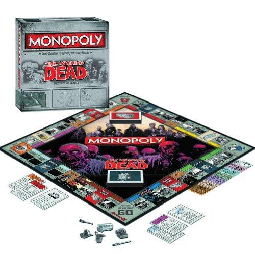 Walking Dead Monopoly Survival Edition Amc Zombie Apocalypse Tv Show Comic
