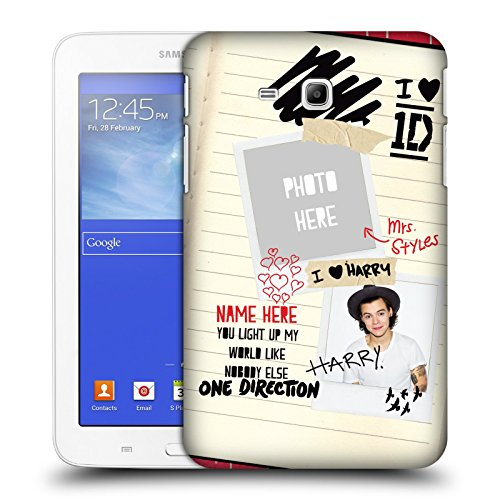 Custom Customized Personalized One Direction 1D Mrs. Styles I Ship Us Hard Case For Samsung Galaxy Tab 3 Lite 7.0 (One Direction Samsung Tab 3 Case compare prices)