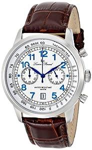 Lucien Piccard Men's LP-10526-023S-BRW Ferden Analog Display Japanese Quartz Brown Watch