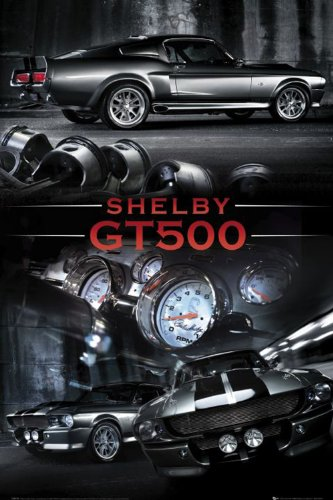 Empire 317445 Autos - Ford Mustang Easton Shelby GT500 - Poster - 61 x 91.5 cm