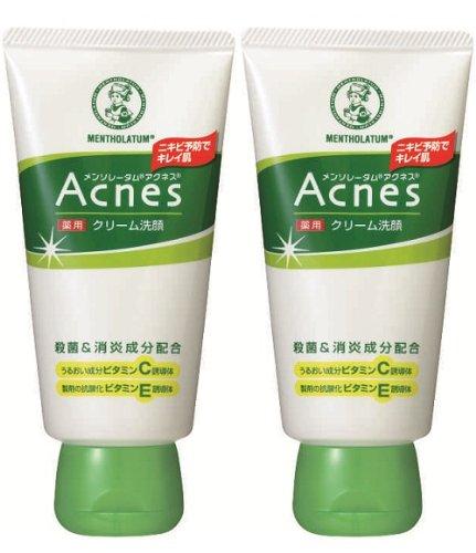 Acnes 薬用クリーム洗顔 130g 2個セット
