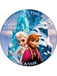"Disney Frozen 7.5"" Round personalised..."