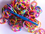 Ateam Loom Bandz, Gummib�nder in vers...